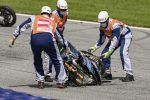 MotoGp, drammatico incidente tra Zarco e Morbidelli in Austria: moto devastate