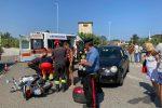 Vibo Valentia, incidente a Porto Salvo: un ferito nello scontro fra un'auto e un scooter