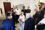 Messina, il prefetto Librizzi visita il comando dei vigili del fuoco