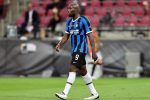 La delusione di Romelu Lukaku a fine gara