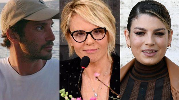 tv, Belen Rodriguez, Emma Marrone, Maria De Filippi, Stefano De Martino, Sicilia, Società