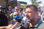 """Matteo Salvini a Catanzaro: """"In Calabria grandi potenzialità ma occorrono strade all'altezza"""""""