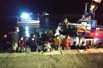 Nuovo sbarco a Crotone: arrivato un peschereccio con 115 migranti a bordo