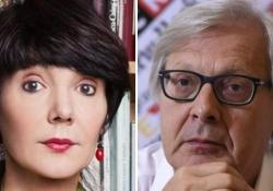Milanesiana, Elisabetta Sgarbi: «Difficile essere la sorella di Vittorio, diciamo che me la cavo» Il critico d'arte ospite della Milanesiana - AGTW