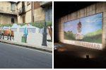 Benedetti ed inaugurati ad Acquaro due grandi murales