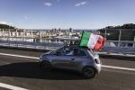 Nuova Fiat 500 ha percorso il nuovo ponte Genova San Giorgio