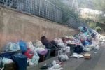 Emergenza rifiuti a Reggio, al via lo stoccaggio delle ecoballe a Sambatello