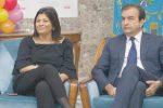 Occhiuto-Santelli simboli di Forza Italia a Cosenza: volti d'un partito che resiste ai sovranisti