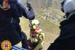 Salina, escursionista colta da malore: salvata con l'elicottero