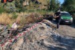 Tortora, combustione illecita di rifiuti e taglio abusivo di alberi: denunciate due persone