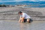 Barcellona, allarme alla foce del torrente Patrì: acque piene di batteri