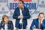 Comunali a Reggio, la doppia anima di Forza Italia: Siclari e Tripodi con Minicuci