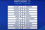 Serie A, il calendario: la Juve alla prima con la Samp, il Crotone in casa del Genoa