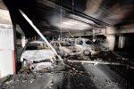 Attentato incendiario a Corigliano Rossano, in fiamme alcune auto