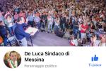 """Blocco della pagina Facebook di De Luca: """"Non temiamo intimidazioni"""""""
