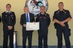 Il Prefetto Francesco Zito in visita all'8º Nucleo Elicotteri Carabinieri Vibo Valentia