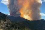 Inferno di fuoco in California, incendio divampa nei pressi di una diga: decine di turisti bloccati