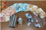 Spaccio di cocaina in casa a Messina, un arresto a Fondo Fucile