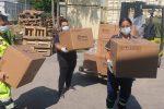 Coronavirus, arrivato in Sicilia il primo carico con 750mila tamponi rapidi