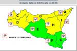 Maltempo in Sicilia, in arrivo temporali e forte vento: allerta gialla a Messina