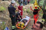 Ritrovata scomparsa a Sant'Andrea Apostolo, era finita in un burrone: sta bene