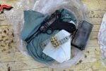 Zungri, rinvenuta una pistola con matricola abrasa: un arresto