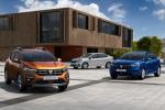 Arrivano le nuove Dacia Sandero, Sandero Stepway e Logan