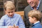Il principe George e il dono del dente di squalo preistorico, grande emozione