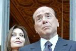 """Berlusconi positivo al Covid, l'ex moglie Veronica Lario: """"Addolorata e preoccupata"""""""