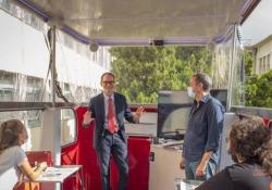CampBus, a lezione con i vicedirettori del Corriere: gli studenti del Galilei-Luxemburg incontrano Venanzio Postiglione Il primo dei quattro incontri con i vicedirettori del Corriere nelle scuole che partecipano al progetto CampBus - AGTW