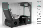 Concept taxi a guida autonoma vince il New Designers Ford Award