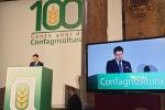 """Confagricoltura compie 100 anni, Conte """"Dedizione in mesi difficili"""""""