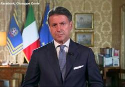 Conte: «L'Italia ha un potenziale enorme, ripartire significa ritrovare la fiducia» Il primo ministro auspica unione e solidarietà in questo momento delicato - Ansa