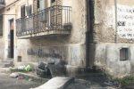 Cosenza, degrado e abbandono nella zona delle Case Minime - Foto