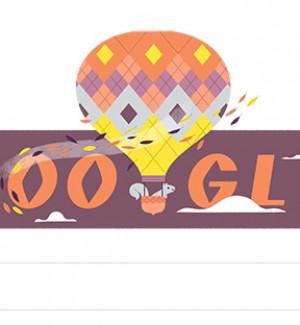 Arriva l'autunno, il doodle di Google che celebra l'equinozio