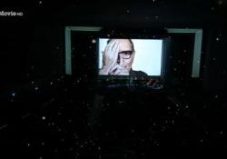 """Festival del Cinema di Venezia, tutti in piedi per Ennio Morricone L'iconico brano di """"C'era una volta in America"""" eseguito dal maestro Andrea Morricone, figlio del compositore da poco scomparso - Ansa"""