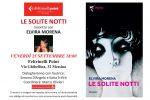 """""""Le solite notti"""", la presentazione del nuovo romanzo di Elvira Morena a Messina"""