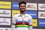 Mondiali di ciclismo, Ganna vince l'oro nella cronometro su strada