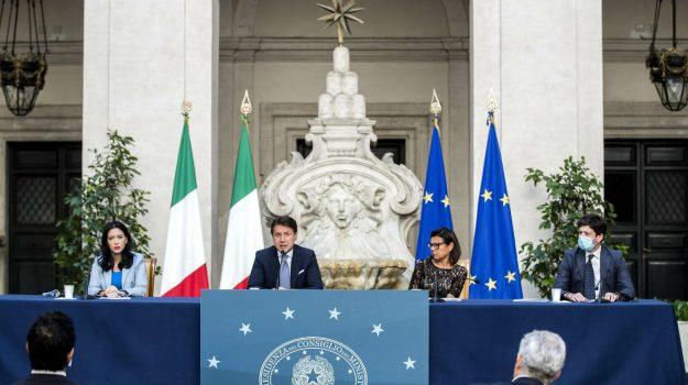 coronavirus, scuola, Giuseppe Conte, Lucia Azzolina, Maria Stella Gelmini, Paola De Micheli, Sicilia, Politica