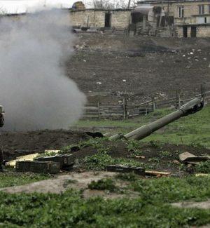 Combattimenti tra Azerbaigian e Armenia nella regione Nagorno Karabakh