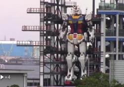 Gundam, il robot dei cartoni anni '80 diventa realtà e muove i primi passi È alto quasi 20 metri ed è stato realizzato a Yokohama, in Giappone - Corriere Tv