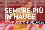 Sempre più in Hauge: il nuovo obiettivo del Milan