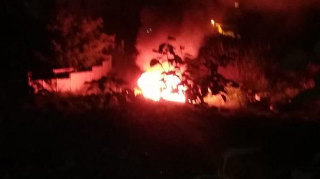incendio, Reggio, Calabria, Cronaca