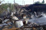 Incendio a Torregrotta, in fiamme un deposito di elettrodomestici