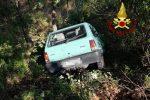 Auto in un burrone a Chiaravalle Centrale, il 29enne alla guida finisce in ospedale