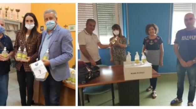 club, coronavirus, disinfettante, Catanzaro, Calabria, Cronaca