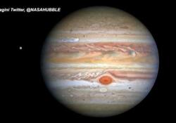 Le nuove spettacolari immagini di Giove riprese dal telescopio Hubble Gli scatti pubblicati dalla Nasa - Ansa