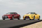Lexus lancia LC 500 Convertible e LC Coupè 2021