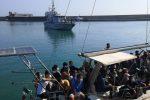 Lo sbarco dei giorni scorsi, sempre a Crotone