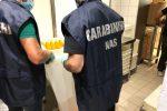 Alimenti senza certificazione, sequestri a Reggio e Melito, multe da 10 mila euro